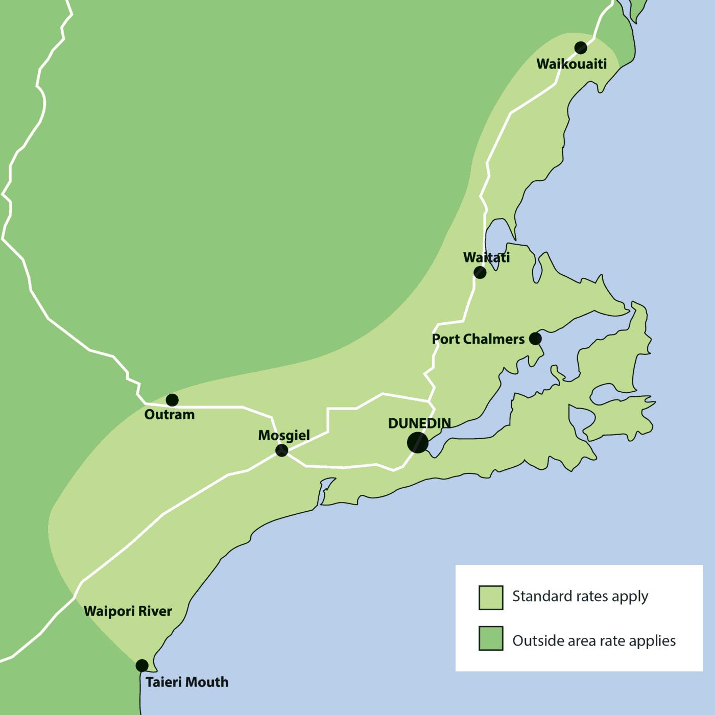 Geeks on Wheels Dunedin Map