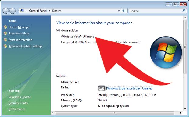 Windows Vista Guide System