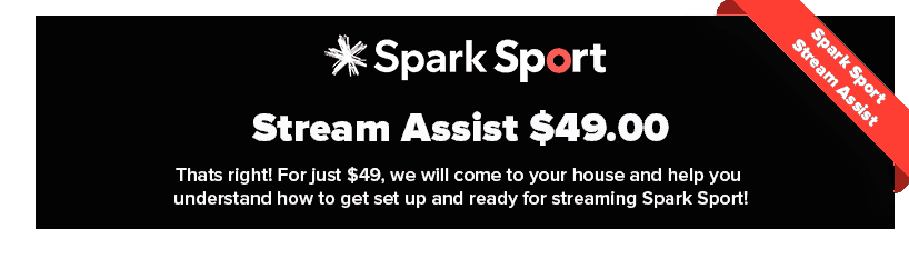 Spark Sport Stream Assist